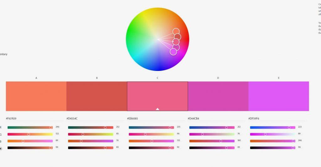ערכת צבעים מקבילה