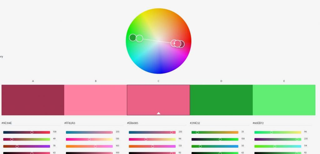ערכת צבעים משלימה