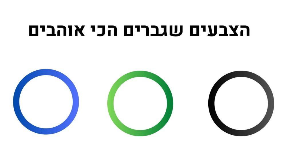 הצבעים שגברים הכי אוהבים